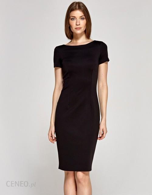 a0a19aa269 Sukienka z krótkim rękawem czarna - Ceny i opinie - Ceneo.pl