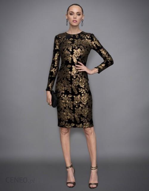 c3f7711607 Sukienka midi ze złotymi cekinami - Ceny i opinie - Ceneo.pl