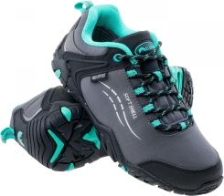 Elbrus Damskie Sabby Wp Dark Grey Black Tourquise