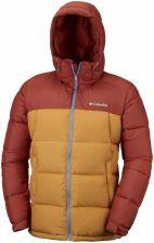 68a720774b4d6 Kurtka Columbia Pike Lake Hooded Jacket - Rusty, Canyon Gold