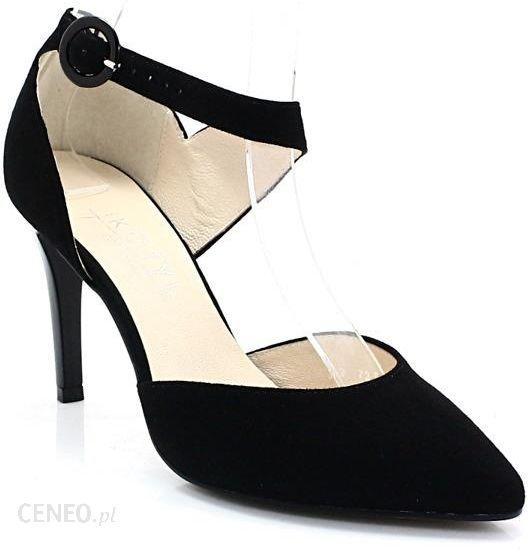d3a8c665db892 KOTYL 7289 CZARNY ZAMSZ - Szpilki na bazie butów tanecznych - Ceny i ...