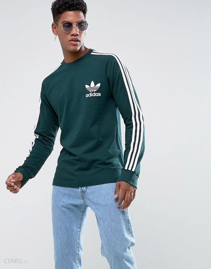 adidas Pique 3 Stripes Long Sleeve Tee | Adidas sweater