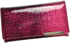 54c0fdb357f75 Tanie Różowe Portfele damskie - Portfele - Materiał  Skóra naturalna ...