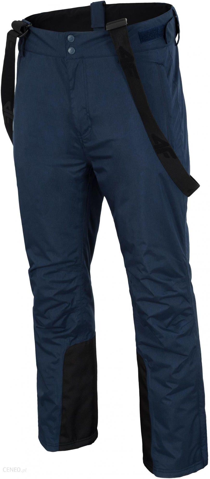 4F Spodnie męskie H4Z17 Spmn001 granatowy melanż Łódź