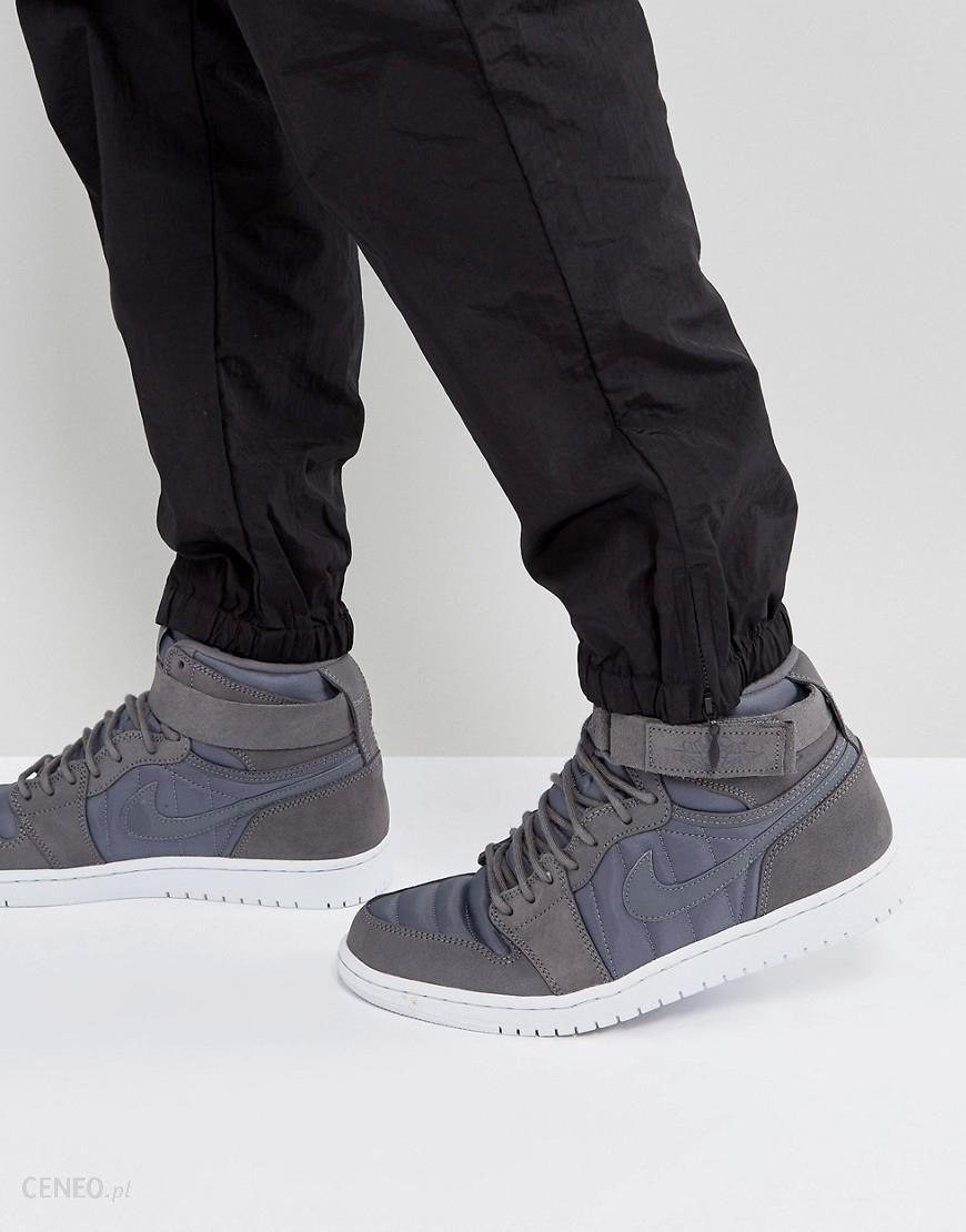 Nike Air Jordan 1 Retro High Strap Trainers In Grey 342132 005 Grey Ceneo.pl