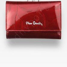 3d925ac806abd Portfel Damski Pierre Cardin Skórzany Czerwony w Liście 117