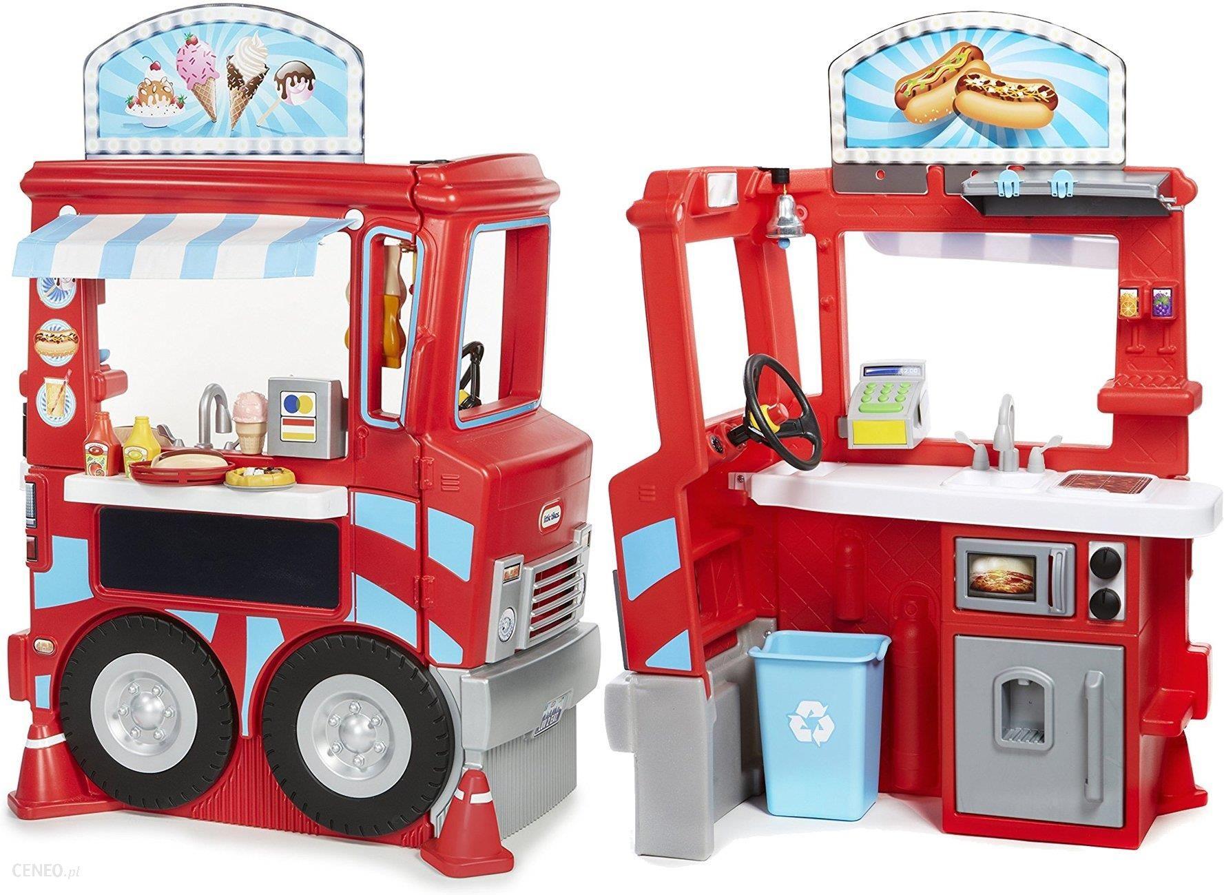 Zabawka Little Tikes Kuchnia Furgonetka Lodziarnia Food Truck 2 W 1 643644 Ceny I Opinie Ceneopl