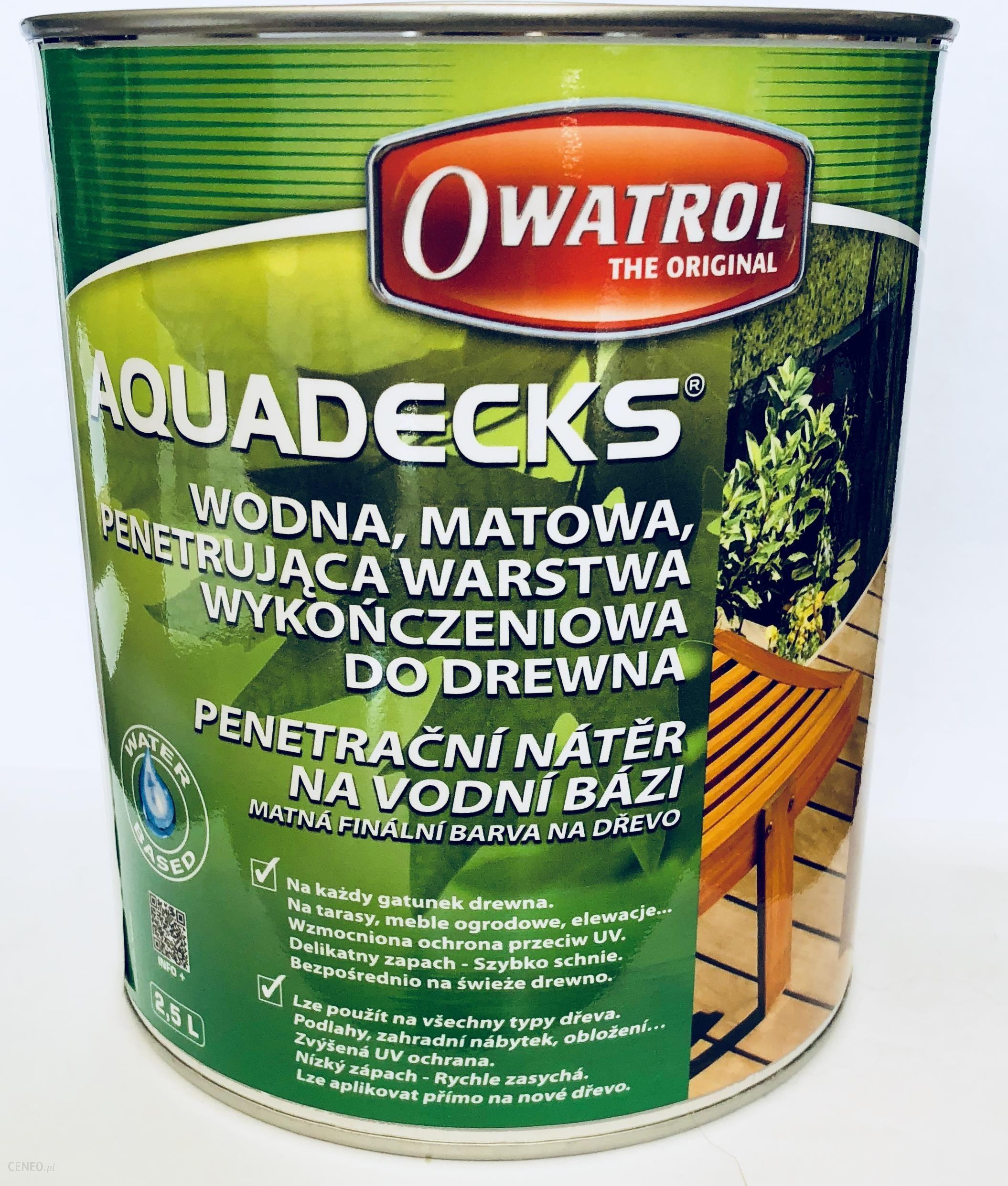 Deska Podłogowa Owatrol Aquadecks Olej Do Deski Tarasowej 5l