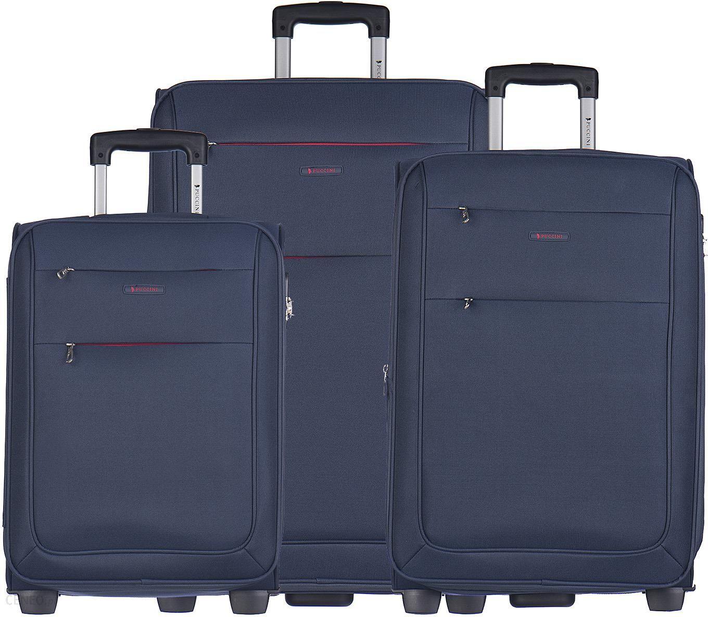 2d15ed8d46f2b Zestaw walizek Camerino niebieski - EM50307 ABC 7 - Ceny i opinie ...