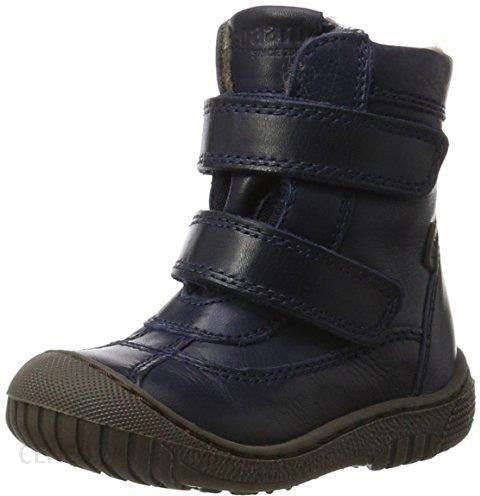 44273bc8 Amazon bisgaard uniseks – dzieci trzewiki zimowe buty na rzepy - niebieski  - 29 EU -