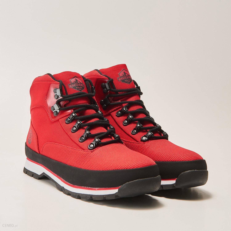 f3dd61536bf26 House - Sznurowane buty na zimę - Czerwony - Ceny i opinie - Ceneo.pl