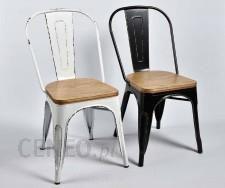 Belldeco Metalowe Krzesło Industrialne Czarne Spring Opinie I Atrakcyjne Ceny Na Ceneopl