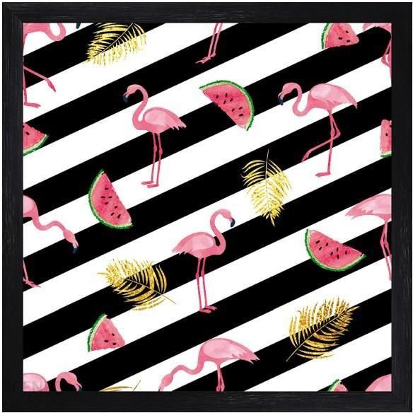 Obraz Flamingi 1 30x30 Cm Opinie I Atrakcyjne Ceny Na Ceneopl