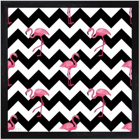 Obraz Flamingi 2 30x30 Cm Opinie I Atrakcyjne Ceny Na Ceneopl
