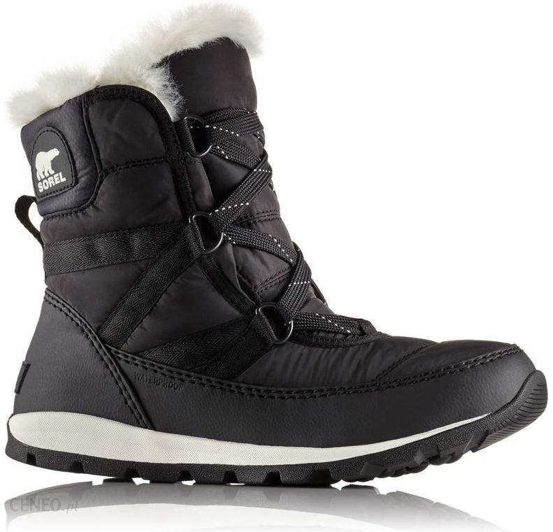 6db346d705dfc Sorel Whitney Short Lace Kozaki Kobiety czarny 2017 Sneakersy - zdjęcie 1