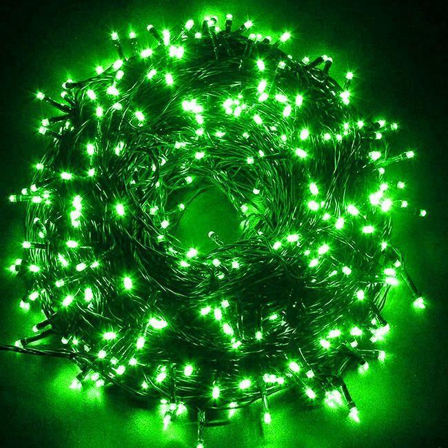 Superbombka Lampki Choinkowe 300 Led Ip44 Zielone 24m Zielony Opinie I Atrakcyjne Ceny Na Ceneo Pl
