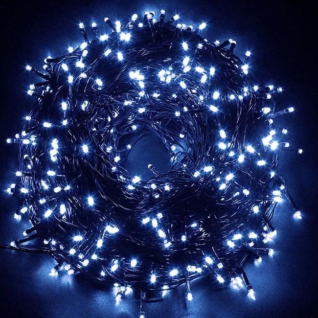 Superbombka Lampki Choinkowe 500 Led Ip44 Niebieskie 38m Niebieski Opinie I Atrakcyjne Ceny Na Ceneo Pl