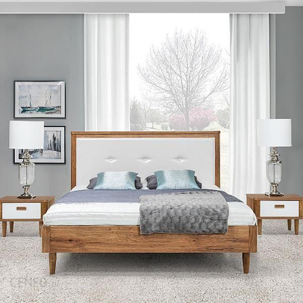 Stolwit łóżko Florencja Płytowe 160x200 Z Pojemnikiem