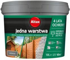 Altax Impregnat Drewno Beton Antracyt 10 L Opinie I Ceny Na Ceneo Pl