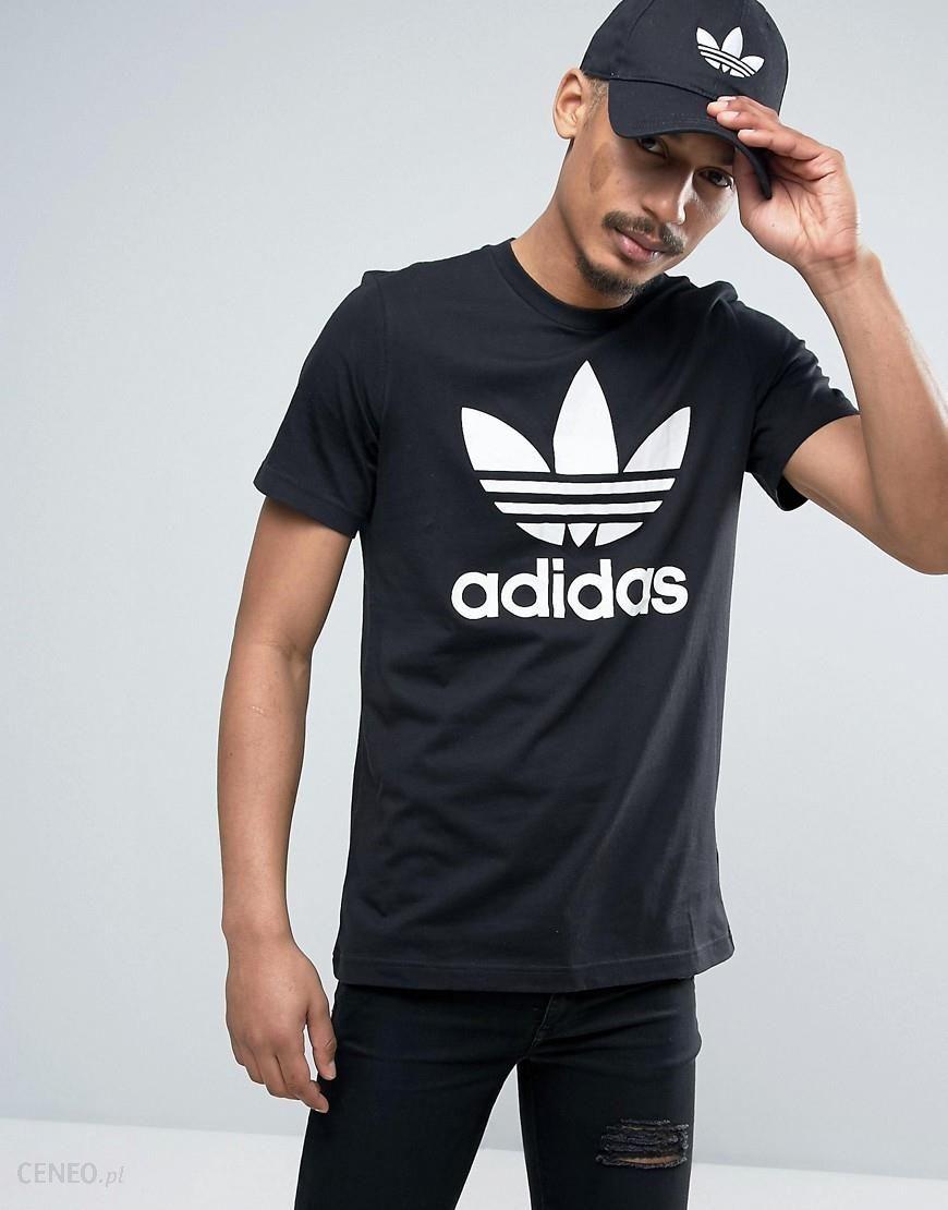 Adidas Originals T Shirt With Trefoil Logo AJ8830 Black Ceneo.pl