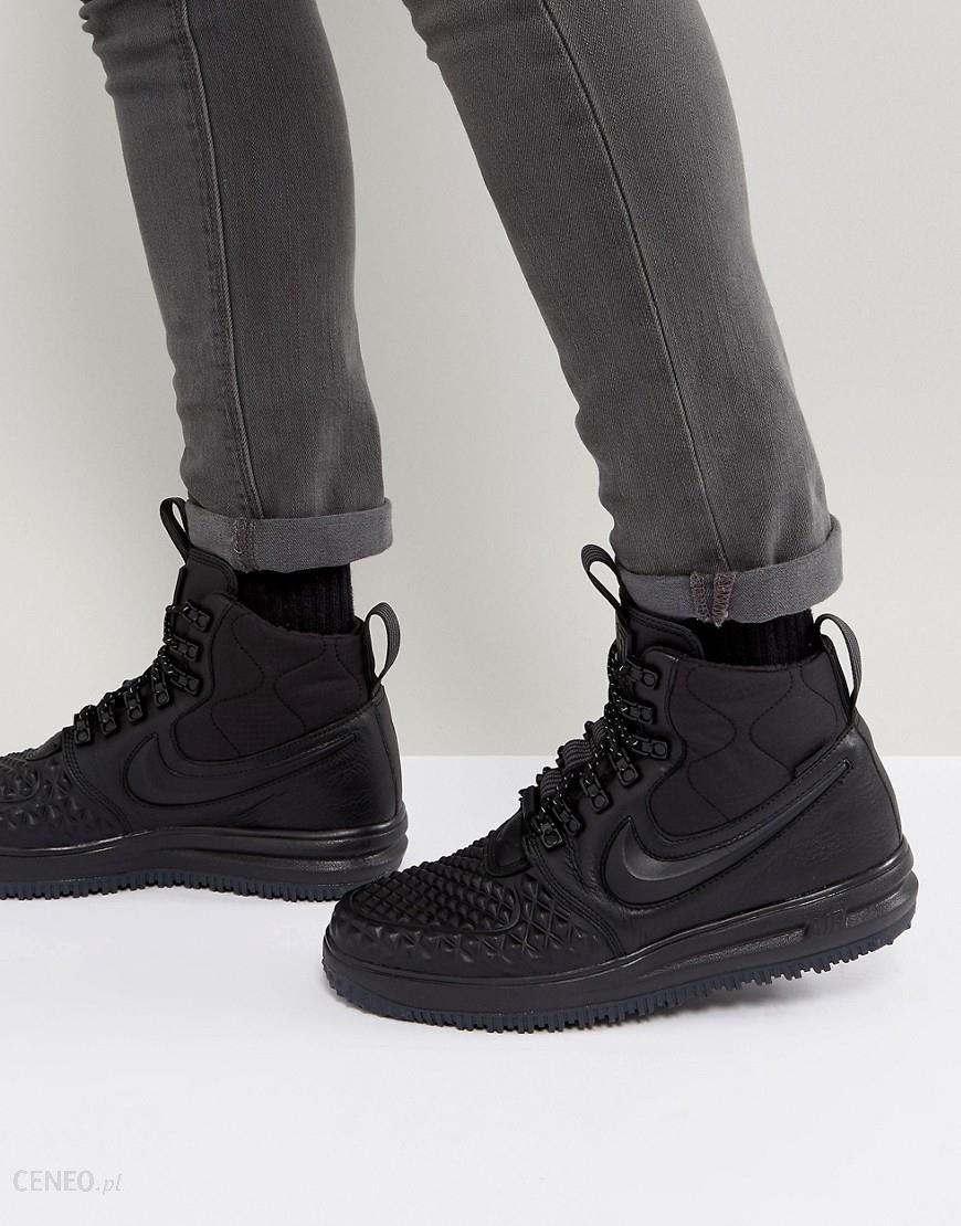super cute fde92 2c3b1 Nike Lunar Force 1 Duckboot  17 Trainers In Black 916682-002 - Black -