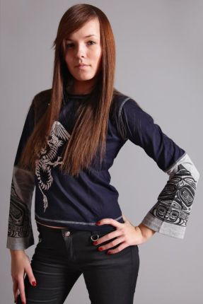 900162b78e1346 Bluzka w groszki NEW YORK DREAMER czarna - Ceny i opinie - Ceneo.pl
