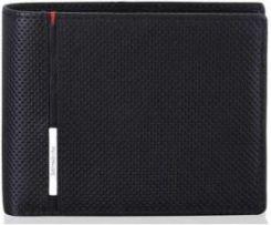 8b4ee99885b41 SAMSONITE portfel męski skóra naturalna kolekcja 13A 274 Perforated Plus z  RFID - zdjęcie 1