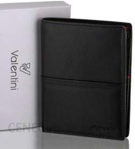 7612c48669972 VALENTINI portfel męski skóra naturalna model 154-265 kolekcja Black    Ferrari Red - zdjęcie