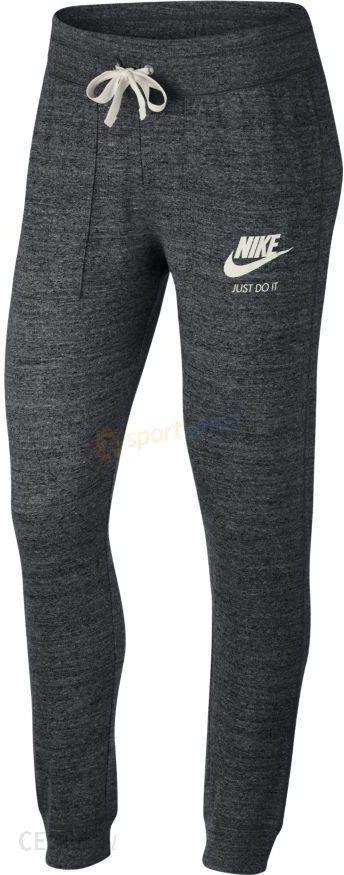 gorące produkty Kup online najlepszy wybór Spodnie dresowe damskie Sportswear Gym Vintage Nike (szare) - Ceny i opinie  - Ceneo.pl