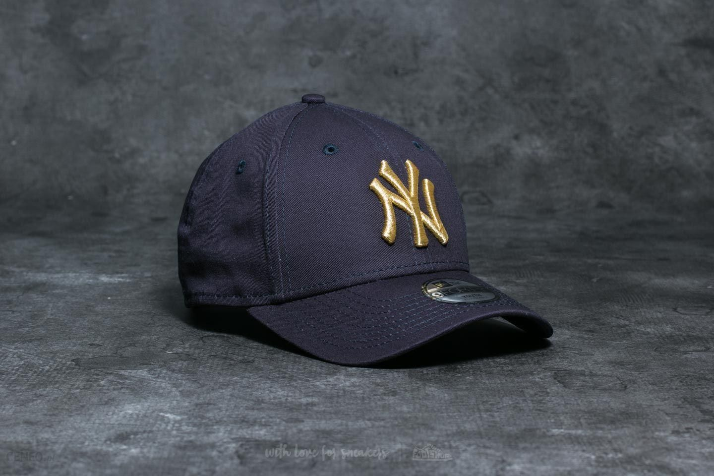 New Era 9Forty JR New York Yankees Cap Navy  Gold - zdjęcie 1 d73b8465d50