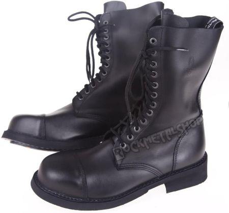 7b544bd967815 Podobne produkty do KENT 114 CZARNY LAKIER - Męskie lakierki czarne ze skóry,  wizytowe. glany STEADY'S - 12 dziurek, czarne (STE/CAM/12/