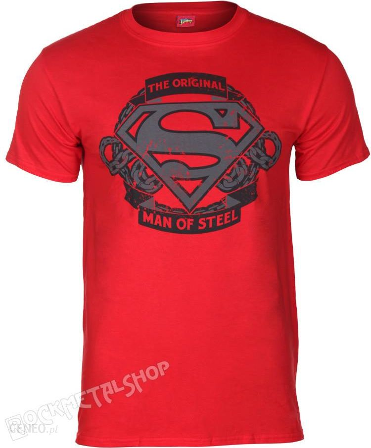 0dd7f3eb5 Koszulka SUPERMAN - ORIGINAL MAN OF STEEL - Ceny i opinie - Ceneo.pl