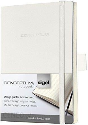 Amazon Sigel Co230 Writing Notebook Ok A6 Soft Cover Conceptum Biały Ok A6 Ceneo Pl