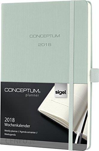 Amazon Sigel Conceptum Kalendarz Rozkład Tygodniowy Rok 2018 Twarda Okładka Może Nie Być Dostępny W Polskiej Wersji Językowej Zielony Mintgrün