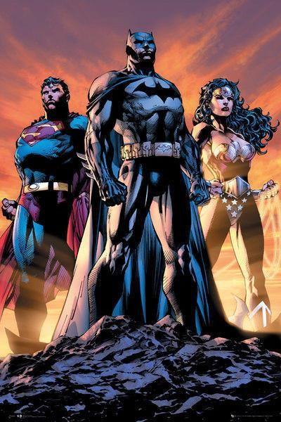 Plakat Dc Comics Justice League Trio Opinie I Atrakcyjne Ceny Na Ceneopl