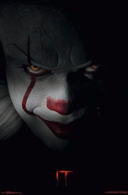 Stephen King It Pennywise Plakat Z Filmu