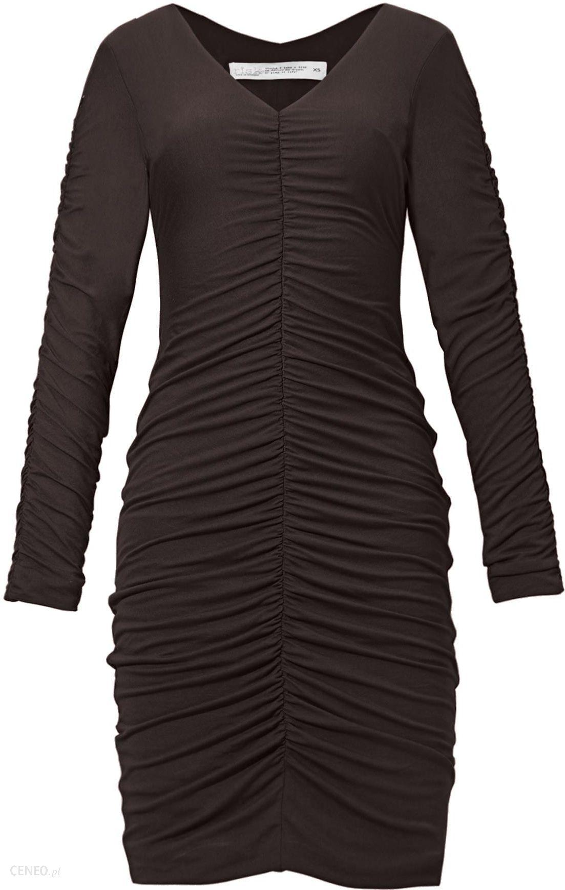 026190f7c5 Sukienka Malena czekolada Rozmiar  Xs - Risk - Ceny i opinie - Ceneo.pl