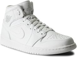 best website fd949 66256 Buty NIKE - Air Jordan 1 Mid 554724 104 White Pure Platinum White eobuwie