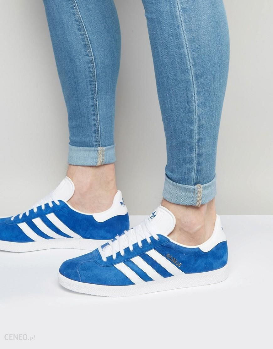 za kilka dni najnowszy najlepszy design adidas Originals Gazelle Trainers In Blue S76227 - Blue