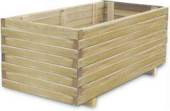 Vidaxl Drewniana Donica 100 X 50 40 Cm Ceny I Opinie Ceneo Pl