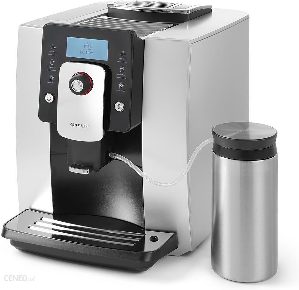 Ekspres do kawy automatyczny 1,8 l, srebrny   HENDI, One Touch