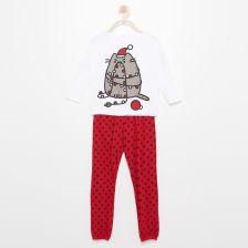 0495e8a001ab19 Reserved - Świąteczna piżama pusheen - Biały - Ceny i opinie - Ceneo.pl