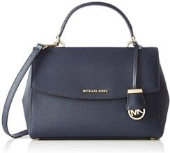31f4303b3e310 Amazon Michael Kors AVA Medium TH Satchel torba z uszami damskie,  niebieskie (Admiral), 12.7 x 21.6 x 27.9 cm
