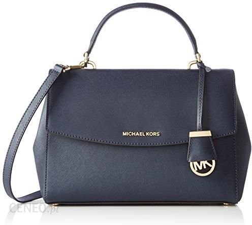 13e4e88a1a963 Amazon Michael Kors AVA Medium TH Satchel torba z uszami damskie,  niebieskie (Admiral)