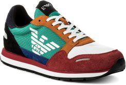 ddc74e8e7 Sneakersy EMPORIO ARMANI - X4X215 XL200 A005 Scarlet Multicolor eobuwie