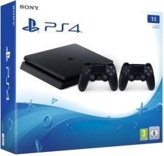 Sony PlayStation 4 Slim 500GB + 2 Kontrolery