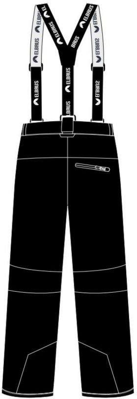 b2936ec0f Elbrus Spodnie Sportowe Damskie Leanna Wos Czarny Micro Chip Dubarry -  zdjęcie 1