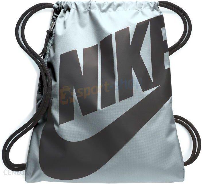 Worek na buty i odzież Heritage Gymsack Nike (szary błękit)