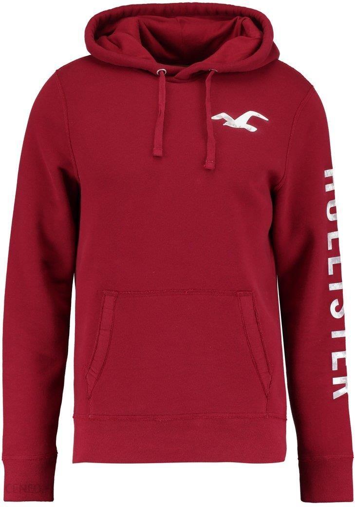 bluza hollister czerwona