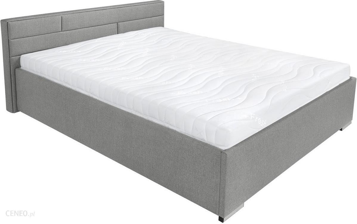 łóżko Tapicerowane 160x200cm Szare Kate Brw Opinie I Atrakcyjne Ceny Na Ceneopl